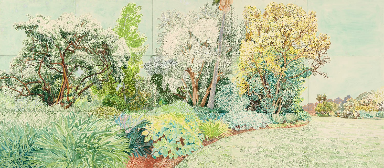 Green Garden (shown in 'Verdant Garden', Bundoora Homestead Art Centre, 2016) 2015 by Elizabeth Nelson
